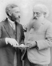 Уильям Куан Джадж и Генри Стилл Олькотт в 1891 г.