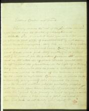 Mahatma K.H. letter #1 p.1