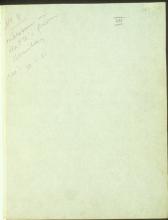 Letter №13 Cover sheet