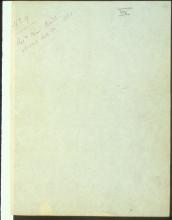 Letter №15 Cover sheet