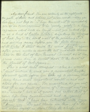 Letter №15 p. 1