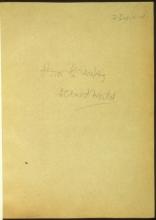 Letter №18 Cover sheet 2