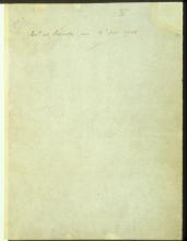 Letter №2 Cover sheet