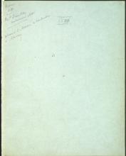 Letter №21 Cover sheet