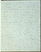 Letter №22 p. 1