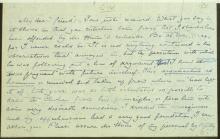 Letter №23 p. 1