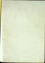 Letter №33 Cover sheet