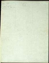 Letter №47 Cover sheet