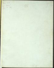 Letter №54 Cover sheet