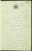 Letter №63 p. 1