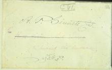 Письмо №7, Конверт