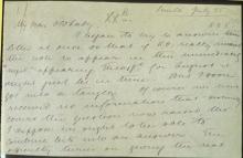 Письмо №70б, стр. 1