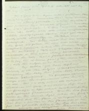 Letter №72, p. 1