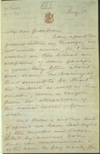 Letter №76, p. 1