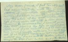 Letter №77, p. 1